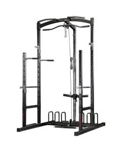 Marcy Eclipse RS5000 Power Rack Gym with High & Low Pulley System