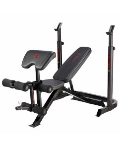 Marcy Eclipse BE3000 Weight Bench with Squat Rack