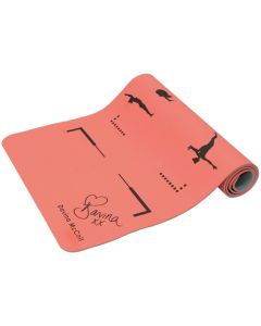 Davina TPE Orange Yoga Mat