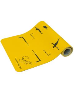 Davina Yellow TPE Yoga Mat