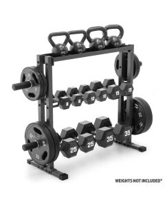 Marcy DBR-0117 Combo Weight Storage Rack