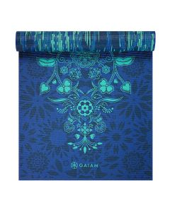 gaiam divine impressions yoga mat side 2