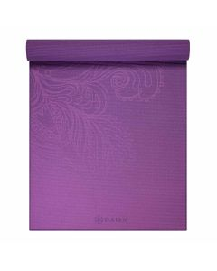 gaiam fading flower yoga mat