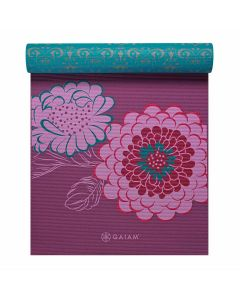 gaiam kiku reversible yoga mat side 1