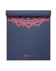 gaiam marrakesh pink yoga mat