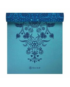 gaiam mystic sky reversible yoga mat side 1