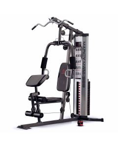 The black and silver Marcy MWM-988 multi-gym