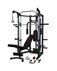 Marcy Eclipse RS7000 Deluxe Smith Machine Home Gym with Bench