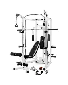 Black and White Marcy SM-5276 Smith Machine