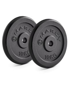 Marcy Standard Cast Iron Weight Plates - Pairs