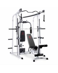 Marcy MD-5191 Smith Machine Home Gym with Weight Bench
