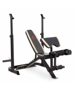 Marcy Two-piece MD-879 Weight Bench & Squat Rack