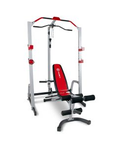 Marcy MD-8851R Deluxe Power Rack & Weight Bench