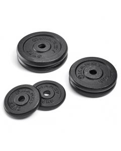 Marcy Standard Cast Iron Weight Plates - 30kg Set