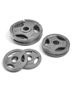 Marcy Olympic TriGrip Cast Iron Weight Plates - 30kg Set