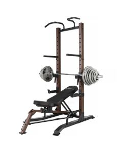 SteelBody By Marcy STB-98502 Power Tower & Bench with 100kg Weight Set