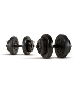 Marcy 18kg (40lb) Vinyl Dumbbell Weight Set