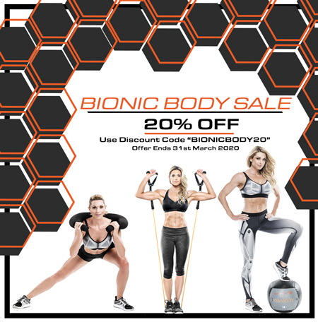 Bionic Body 20% off all Products