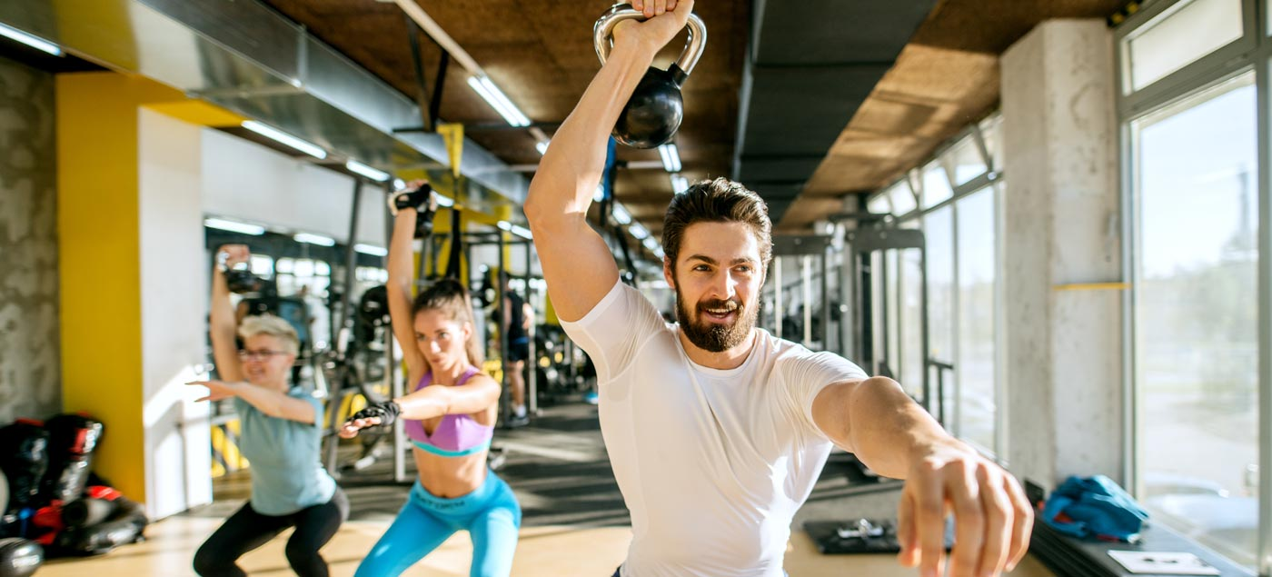 Arms and Abs Kettlebell Workout