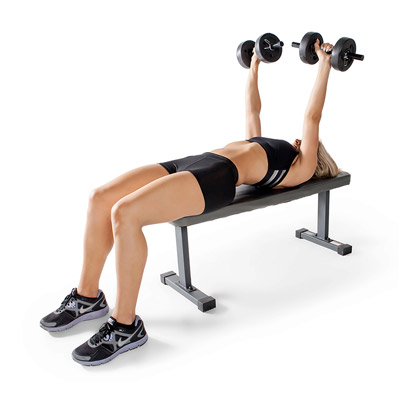 Marcy JD2.1 Flat Bench Dumbbell Press