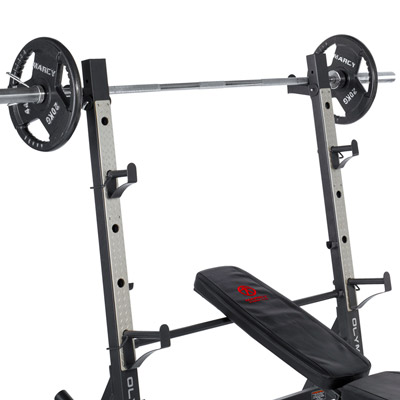 Marcy MD-857 Olympic Bench Rear Squat