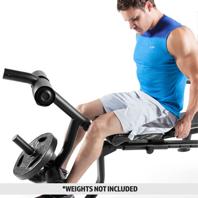 Marcy MD-867W Weight Bench Leg Curl