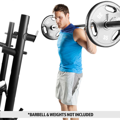 Marcy MD-867W Weight Bench Squat