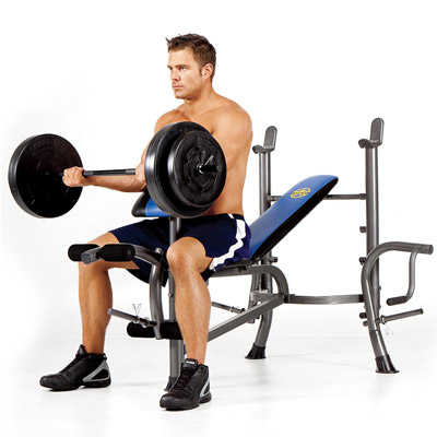 Marcy MWB36780B Bench with Model
