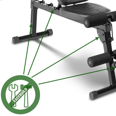 Marcy PM-10110 Bench Assembled
