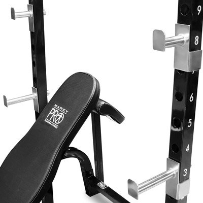 Marcy PM-842 Olympic Bench Bar Pegs