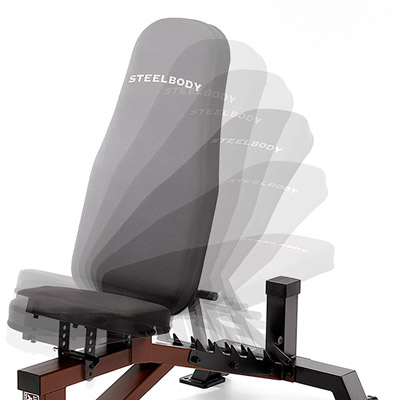 SteelBody Adjustable Weight Bench Angles