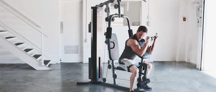 person performing biceps curl