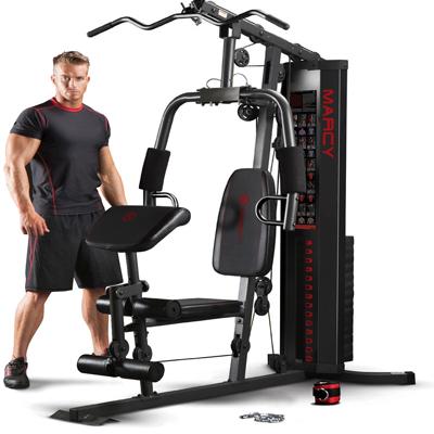 a Marcy multi-gym