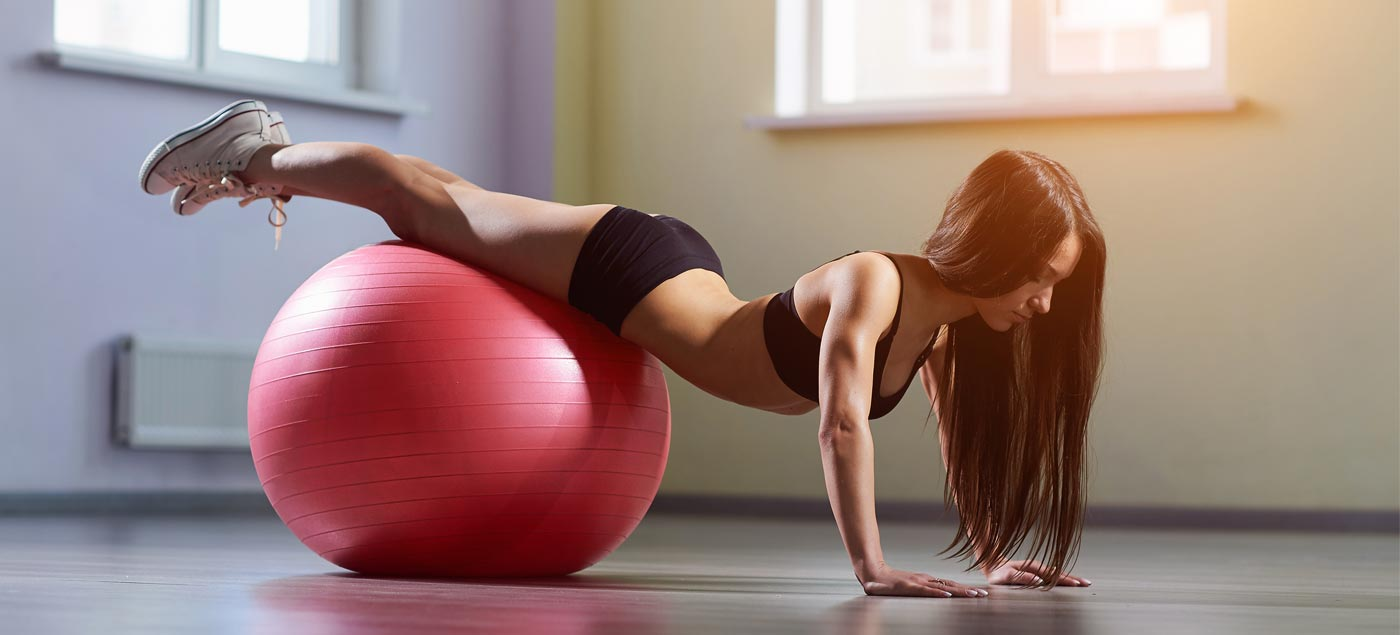​10 of the Best Exercise Ball Exercises You Can Do