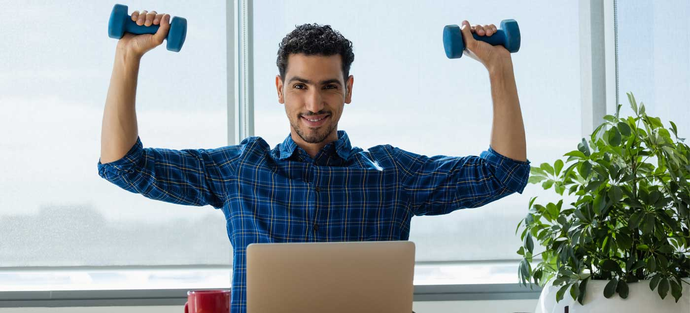 ​The Office Workout To Burn Fat & Build Muscle