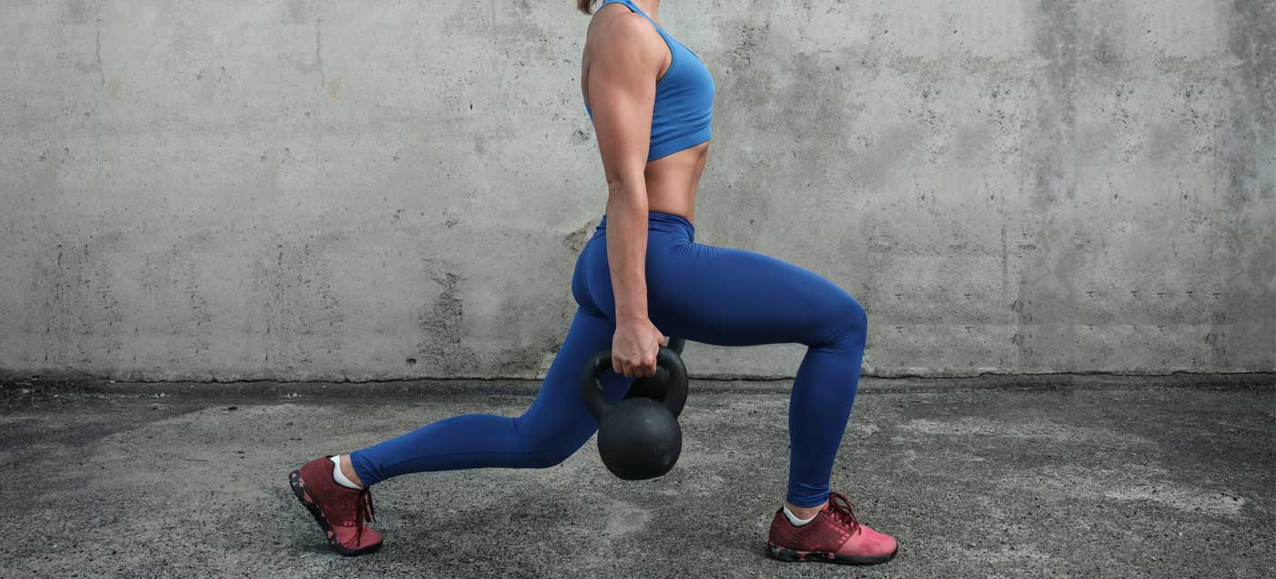 Legs and Butt Kettlebell toning Workout