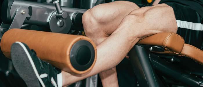 Man doing Single-Leg Extension
