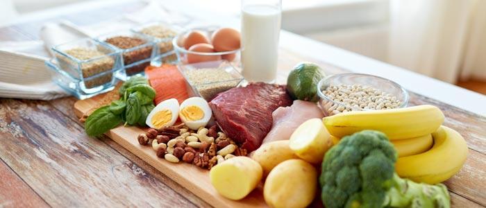 foods that make up a balanced diet
