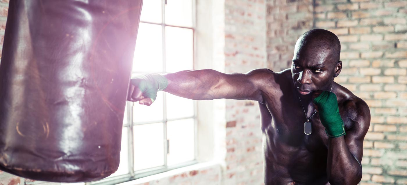 The 10 Minute Punch Bag Workout