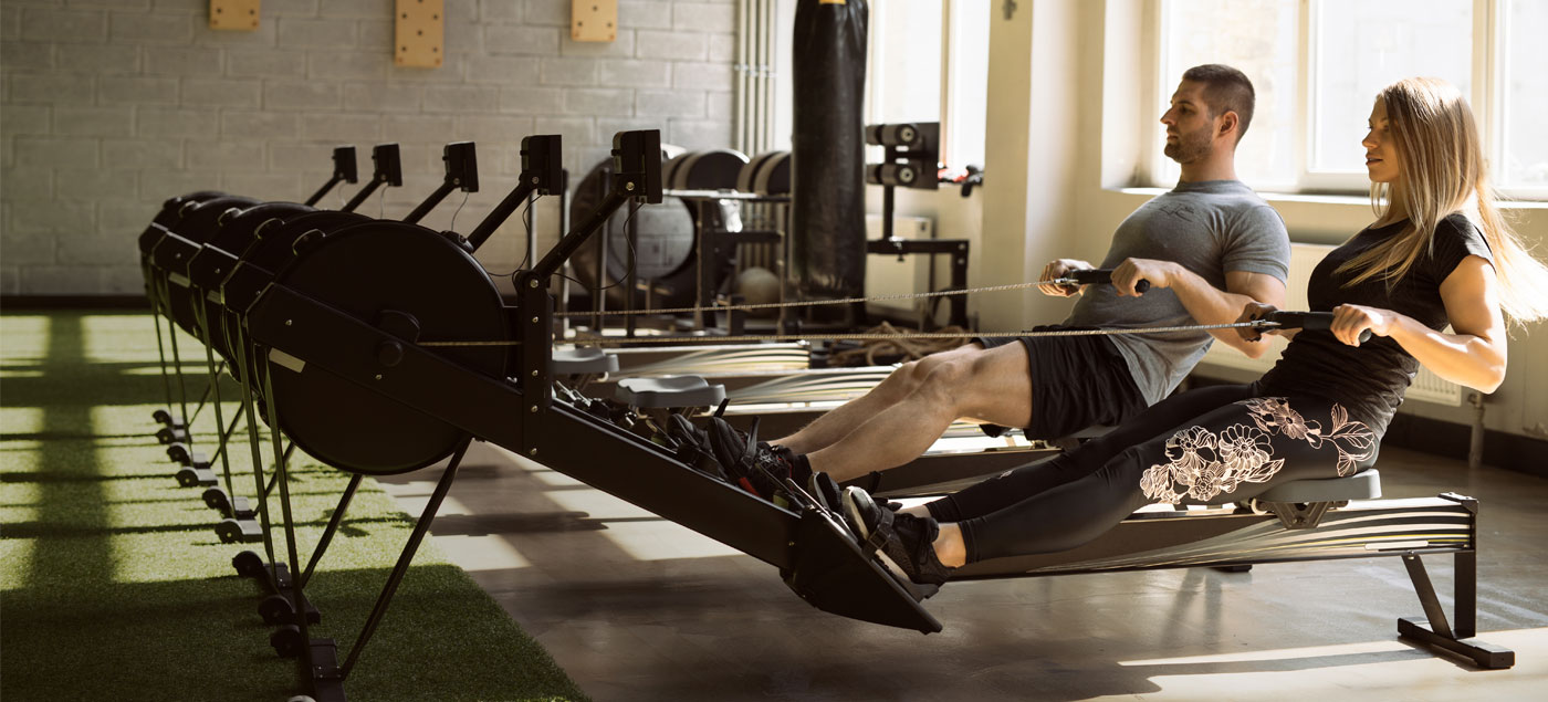 4-week rowing machine workout plan