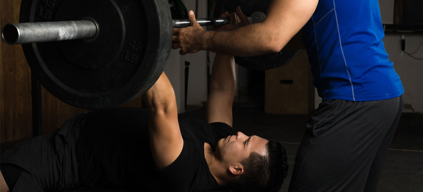 How to Be a Good Gym Spotter