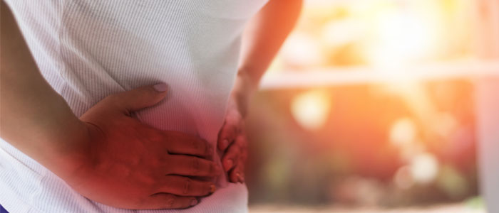 person exercising with a hernia