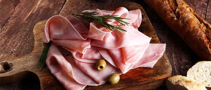 ham close up