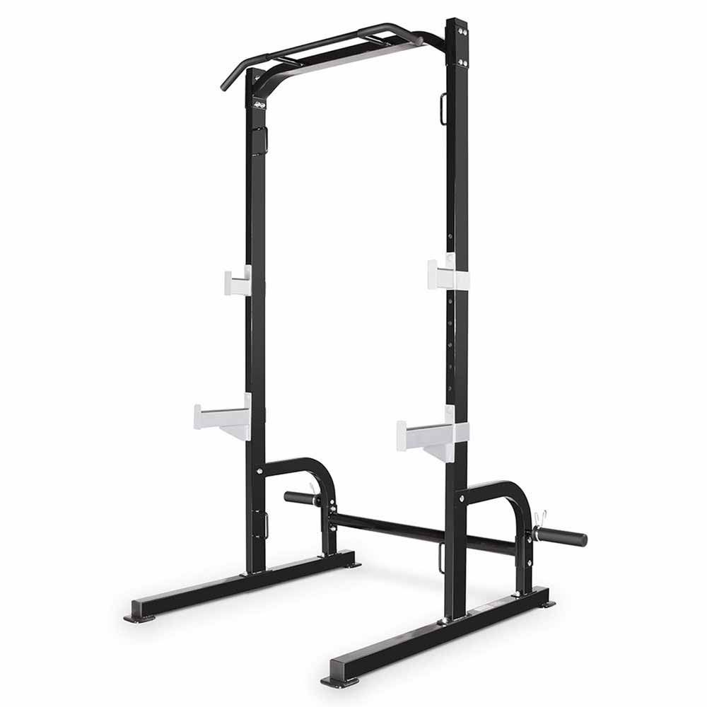 Marcy SM-8117 Olympic Squat Rack with Multi Grip Pull Up Bar