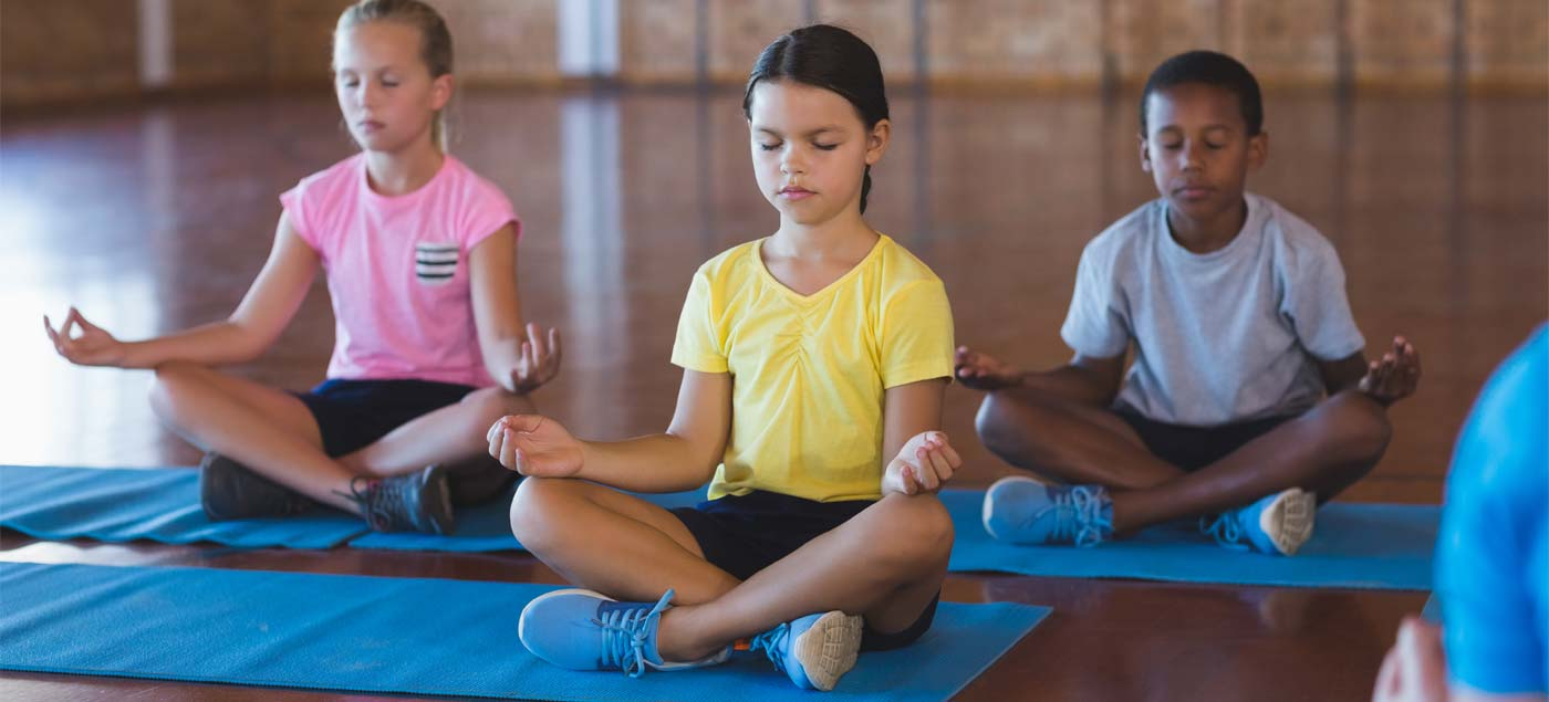 Yoga poses for your kids to try at home