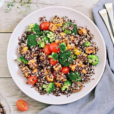 A mean with quinoa