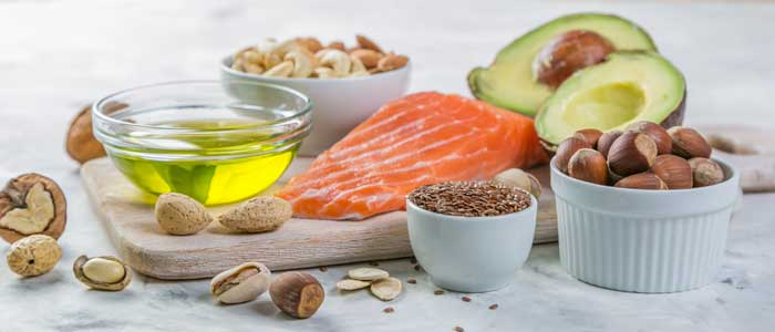 Foods that have good fats in them