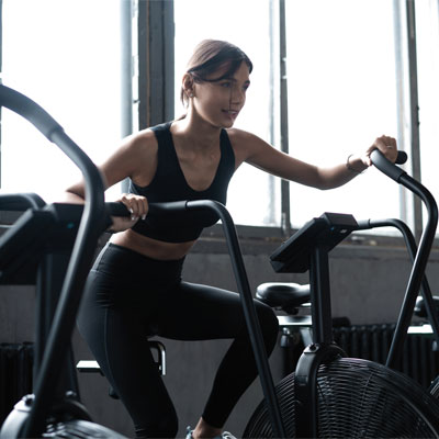 Woman in the gym
