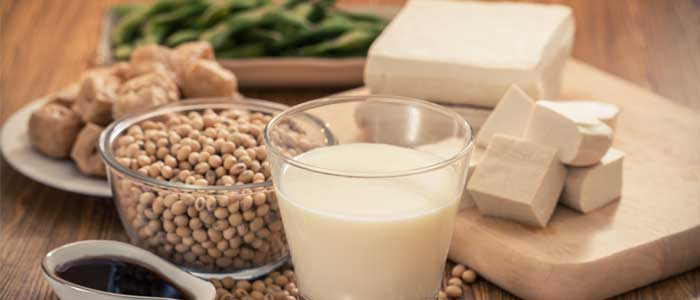 Soy, tofu, milk and other healthy soy foods