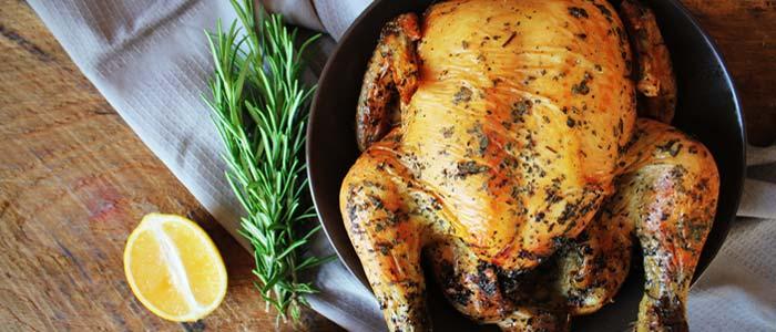 Picture of roast chicken